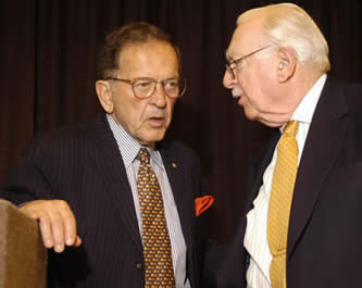 Pictures from A Dinner with Walter Cronkite June 27, 2003
